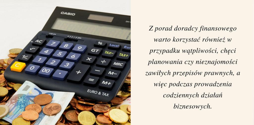porady doradcy finansowego