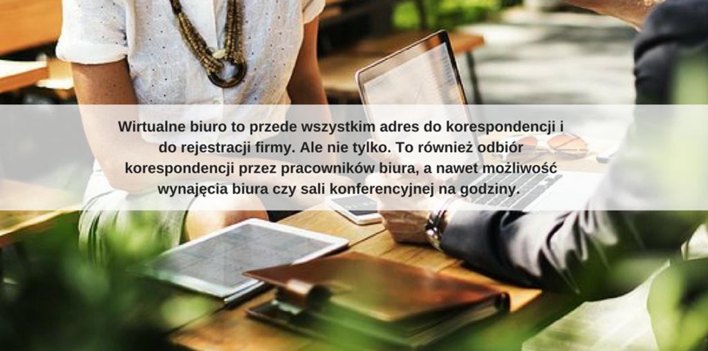 wirtualny adres dla firmy w Warszawie